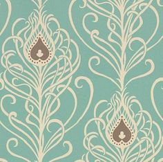 peacock wallpaper. It's not exactly like I was looking for, but it's close. Someone let me know if you find Peacock wallpaper that looks similar to something from Disney's Haunted Mansion!
