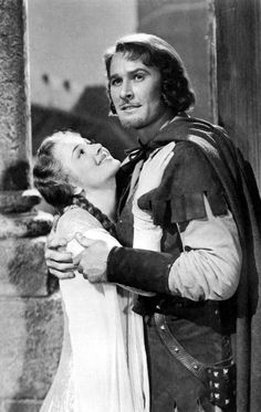 Olivia de Havilland & Errol Flynn - THE ADVENTURES OF ROBIN HOOD