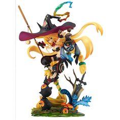 魔女と百騎兵 沼の魔女 メタリカ (1/8スケール PVC製塗装済み完成品): ホビー