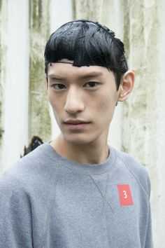 KIM TAEHWAN - Backstage at Kenzo Spring / Summer 2014 men's