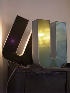 1000 images about luminaire lampadaire on pinterest - Lettre lumineuse vintage ...