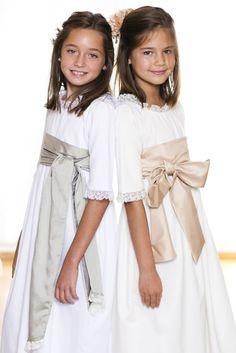 1SaintTropez2 Saint Tropez, Cute Dresses, Flower Girl Dresses, Communion Dresses, First Communion, Princess Wedding, Girl Model, Kids Outfits, Kids Fashion