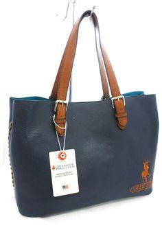 Borsa Shopping Grande woman bag Beverly Hills Polo Club Art PG -07 Blu