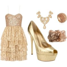 Gorg in Gold, created by sfunkygirl on Polyvore