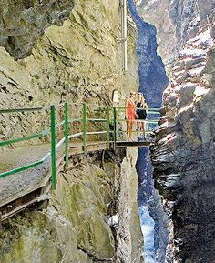 Die Breitachklamm zählt zu den 100 schönsten Geotopen in Bayern