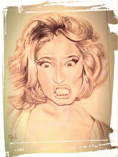 Nicki Minaj drawings :D 1/5/13