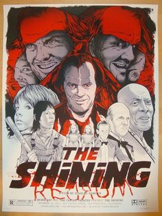 The Shining - silkscreen movie poster (click image for more detail) Artist: Brandon Schaefer Venue: The Castro Theatre Location: San Francisco, CA Date: 12/14/2012 Edition: 100; signed and numbered Si