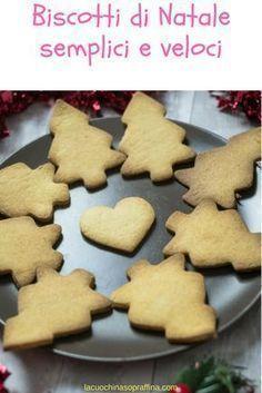 I biscotti di Natale semplici e veloci da fare a casa e decorare #natale #biscotti