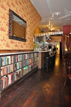 Hayes Valley's Two Sisters Bar And Books. San Francisco