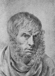 Caspar David Friedrich self portrait - Caspar David Friedrich, self portrait, age thirty-six, 1810