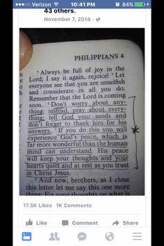 Good scripture.