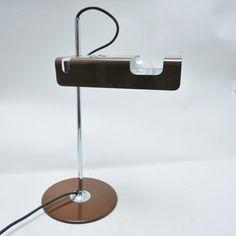 Spider desk lamp by Joe Colombo for Oluce, 1960s