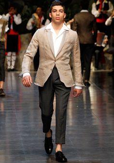 Dolce & Gabbana Collezione Uomo Sfilata Primavera Estate 2013 - Video e Fotogallery