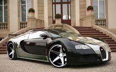 Negro y Cromado Bugatti Veyron