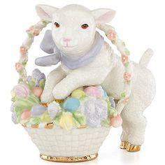 LENOX Figurines: Easter - Easter Lamb Figurine