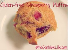 Gluten-free Strawberry Muffins.  Didn't have strawberries, but used this recipe with raspberries, bananas & choc chips.  Delicious.