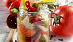 Food Network Recipes, Cooking Recipes, Can Jam, Mediterranean Recipes, Greek Recipes, Preserves, Pickles, Nutrition, Stuffed Peppers