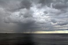 Stormy day. Dun Laoghaire, Dublin. Ireland.