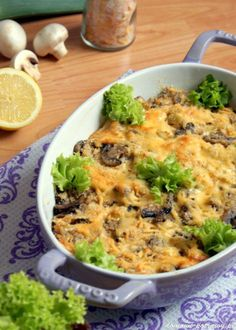 Risotto, Macaroni And Cheese, Food And Drink, Fish, Chicken, Cooking, Ethnic Recipes, Diet, Polish Recipes