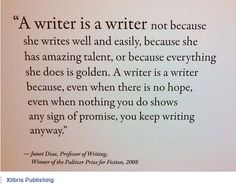 Keep Writing Anyway!  (Thanks to Christopher Meeker and Hawthorne Books)