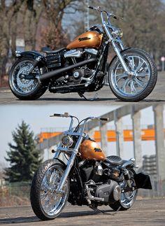 Harley-Davidson Dyna made by Thunderbike