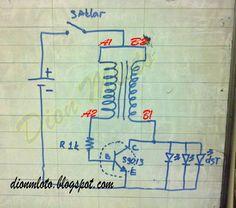 Lampu Emergency Dengan Baterai Bekas | Handycraft Lampu LED Dari Barang Bekas | Dion Mloto
