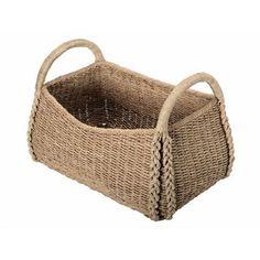 Large Sized Rectangular Sea Grass Basket - beach-style - Baskets - Other Metro - KOUBOO Seagrass Storage Baskets, Rattan Basket, Picnic Baskets, Basket Storage, Bamboo Basket, Fabric Storage Boxes, Fabric Bins, Rectangular Baskets, Large Baskets