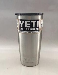 cb94a2f74d6 7 Colors 20oz Yeti Cup 304 Stainless Steel Yeti Rambler YETI Coolers  Rambler Tumbler Double Walled