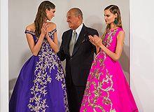 Oscar de la Renta   New York Fashion Week   Fall 2013   Galliano voltou? http://www.comunidademoda.com.br/oscar-de-la-renta-new-york-fashion-week-fall-2013-galliano-voltou