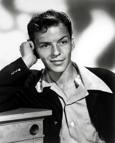 Young Frank Sinatra as Teenager
