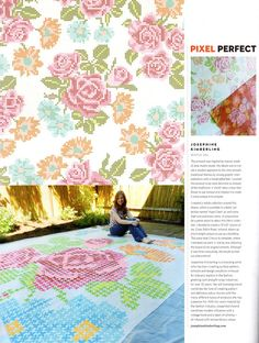 Thank you Uppercase Magazine for featuring me in Issue 15! @Janine Vangool
