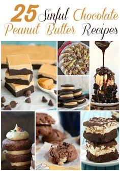 25 Fabulous Chocolate Peanut Butter Dessert Ideas