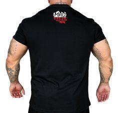 Koszulka 'Zawsze Dumny' czarna - tył ---> Streetwear shop: odzież uliczna, kibicowska i patriotyczna / Przepnij Pina!