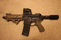 Custom AR Pistol