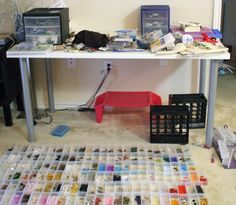 Organizing beads = perfection