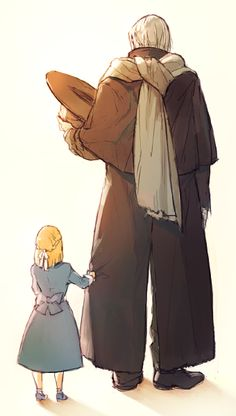 Father Gascoigne and his daughter // :'(