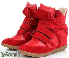 Red  Sneakers Shoes for Clara Costume