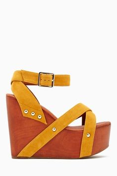 Doxie Platform Wedge FALL // Fashion Trends // Style