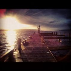 Lake Washington, Sunset