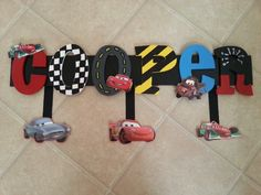 Disney Cars Birthday Party Ideas Decoration Daughters 20 Ideas For 2019 Disney Cars Party, Disney Cars Birthday, Cars Birthday Parties, Disney Cars Bedroom, Car Themed Bedrooms, Preppy Car Accessories, Painting Wooden Letters, Letter A Crafts, Cute Cars