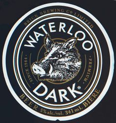 Waterloo Dark Lager - Brick Brewing Co. Limited | Flickr - Photo Sharing!