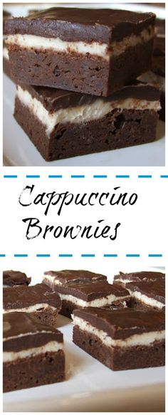 Cappuccino Brownies Recipe