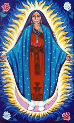 mexican goddess bloody mary | Indigenous Guadalupe
