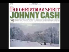 "Title track from 1963 Johnny Cash album ""The Christmas Spirit. Xmas Music, Christmas Music, Christmas Movies, Christmas Videos, Christmas Christmas, Johnny Cash June Carter, Johnny And June, Johnny Cash Albums, Xmas Carols"