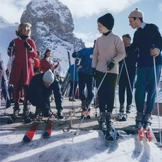 Slim Aarons - Cortina D'Ampezzo (Aarons Estate Edition