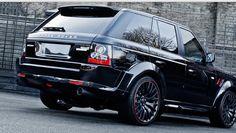 2013 Range Rover Santoniri Black RS 600 Kahn Cosworth By Kahn Design   daily techs