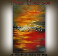 modern abstract art on canvas by Nandita