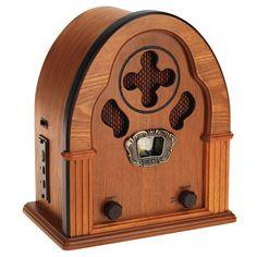 retro 1930s radio