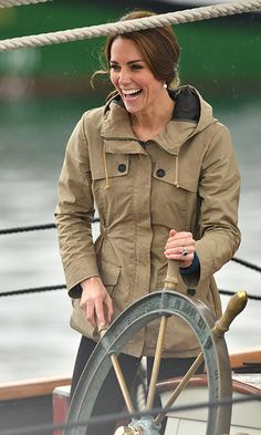 Just call her Captain Kate!<br><br>Photo: © PA