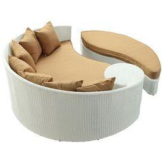 Taiji Outdoor Patio Wicker Daybed – LoftPlusBarn Rattan, Wicker, Sun Chair, Daybed Sets, Deck Furniture, Bassinet, Plush, Cushions, Patio